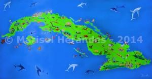 Marisol Hernandes: Cuba mágica, 2014