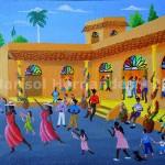 Marisol Hernandes: Fiesta en la plaza, 2014