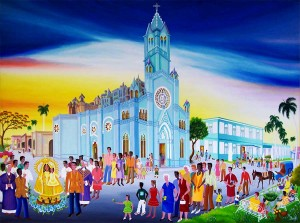 Marisol Hernandes: Adoración de la Virgen de la Caridad del Cobre, 2012