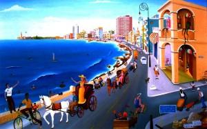 Marisol Hernandes: Atardecer de mi Habana, 2004