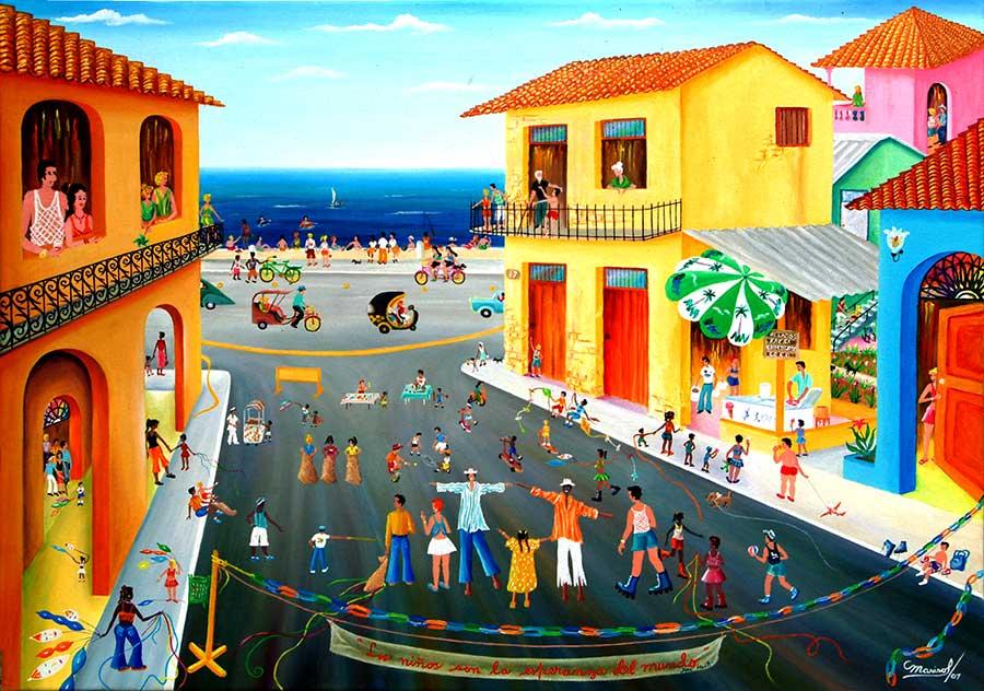 Marisol Hernandes: Día de los niños, 2007
