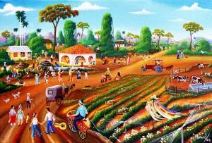 Marisol Hernandes: Festejando el día del campesino, 2006