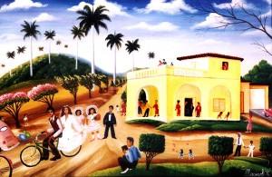 Marisol Hernandes: La boda en bicicleta, 1996