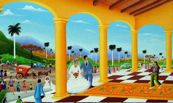 Marisol Hernandes: Recuerdos de la casa colonial, 2007